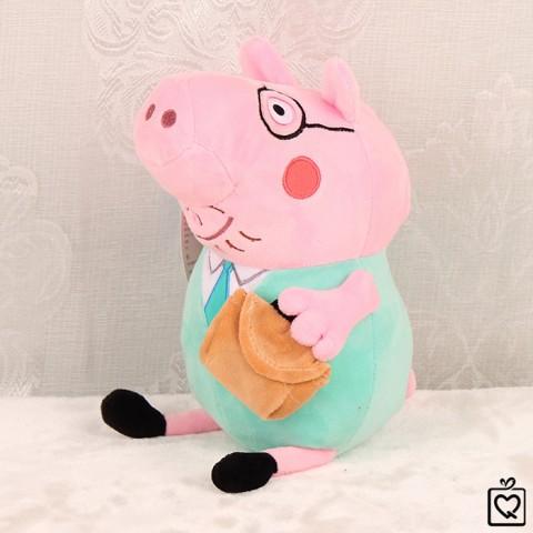 Heo bông Peppa Pig-Daddy pig