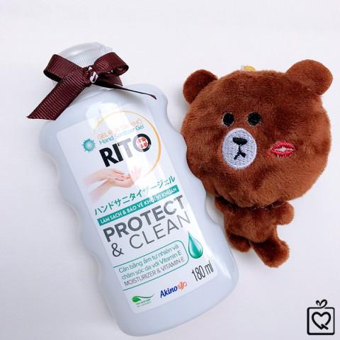 Gel rửa tay khô sát khuẩn Rito Nhật Bản
