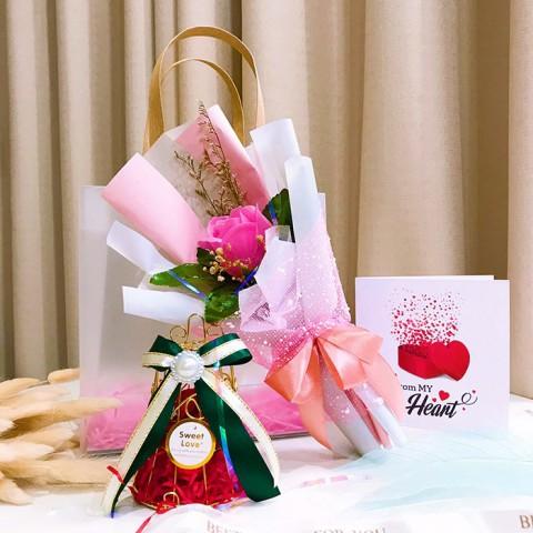 Quà tặng LuvGift A Little Love - Túi quà nhám Luv73