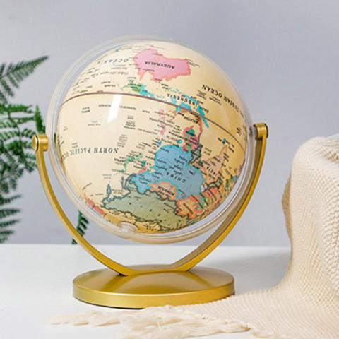 Quả địa cầu-bản đồ thế giới phong cách Modernism