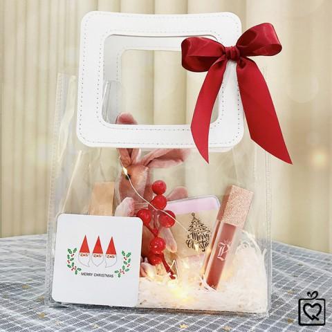 Quà Giáng Sinh LuvGift Special Girl - Túi quà trong suốt Luv56
