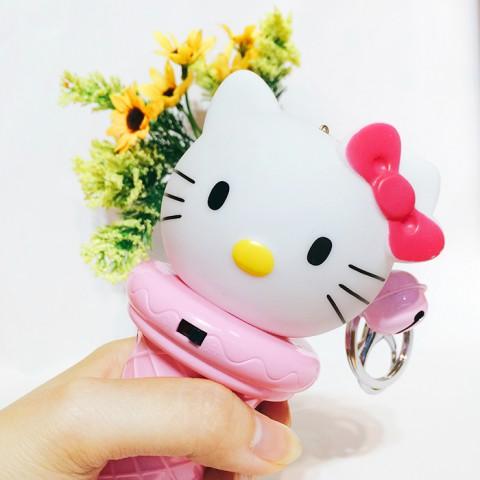 Quạt phun sương mini cầm tay Hello Kitty