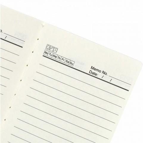 Sổ tay may dán gáy nhà báo B6 200 trang KLong - MS918