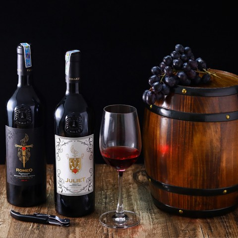 Rượu vang Ý Juliet Merlot Malvasia Nera - Kèm hộp rượu gỗ đơn