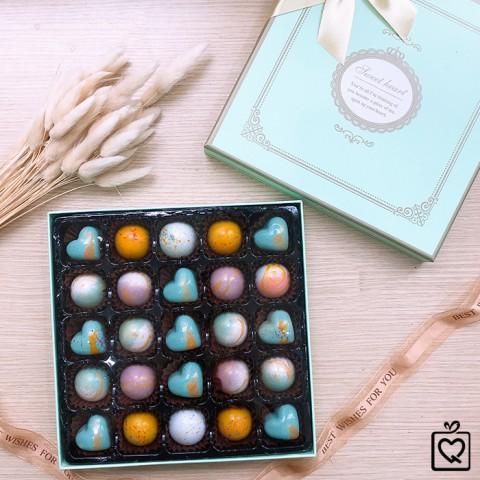 Quà tặng Socola LuvChocolate Tình Mãi Đắm Say - Hộp 25 viên