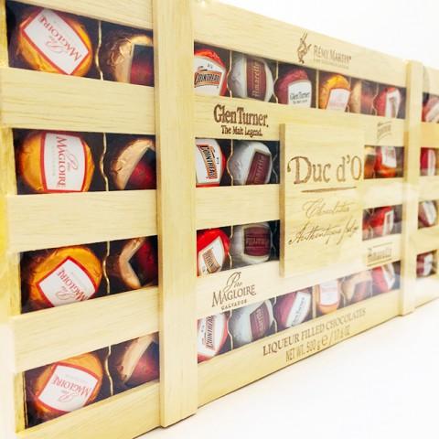 Socola Valentine rượu vị nồng cấp 3 - DUC D'O Bỉ 500g
