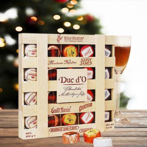 Socola rượu vị nồng cấp 2- DUC D'O Bỉ 250g