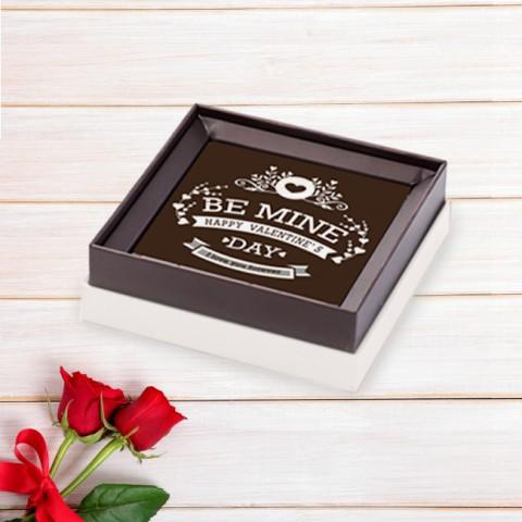 Socola Valentine Ta là của nhau - Hộp 1 viên 8x8cm