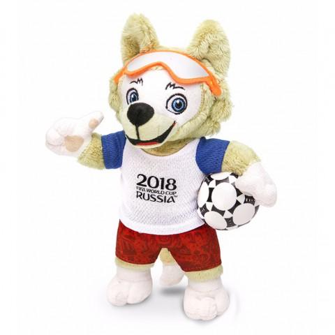 Chó sói bông Zabivaka linh vật world cup 2018