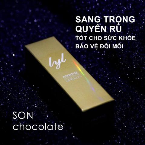 Son dưỡng môi Socola trắng - Mama chocolate Lipbalm
