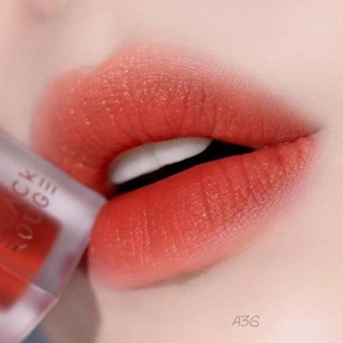 Son Black Rouge Air Fit Velvet Tint Ver 7 A36 - Cam pha nâu