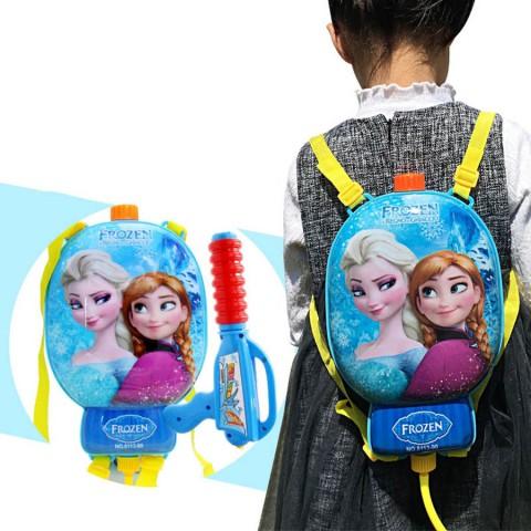 Súng nước  balo cho bé công chúa Elsa