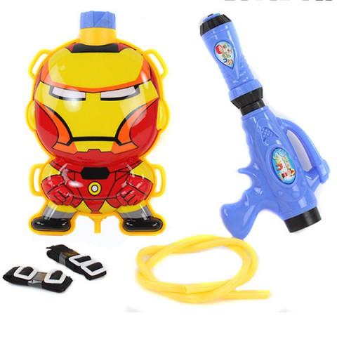 Súng nước balo cho bé - Iron man