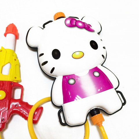 Súng nước balo cho bé Hello Kitty