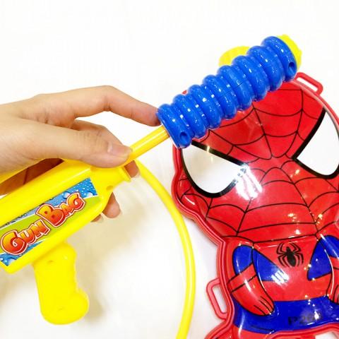 Súng nước balo cho bé Spider man