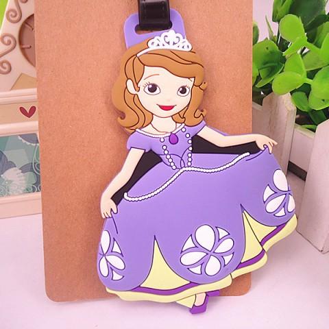 Thẻ đeo hành lý name tag công chúa