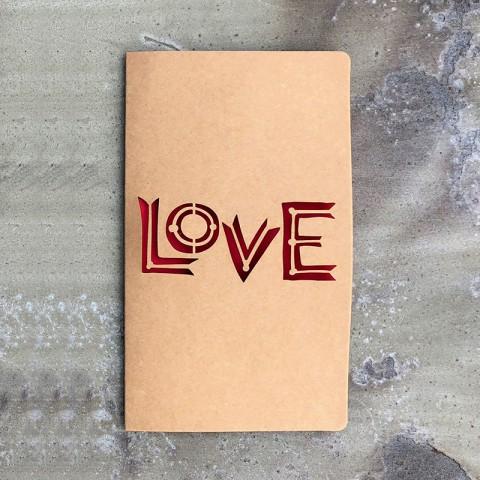 Thiệp tình yêu krap