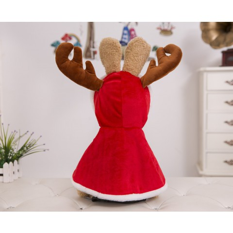 Thỏ Phục Sinh Le Sucre mặc áo tuần lộc