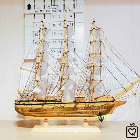 Mô hình thuyền buồm 50A1 - 50cm