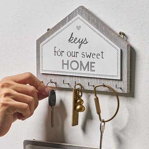 Bảng gỗ treo chìa khóa mái nhà