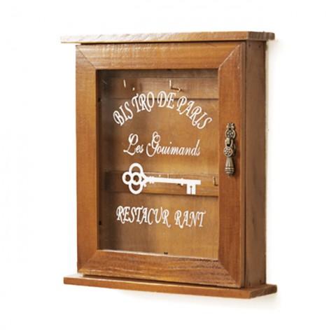 Tủ gỗ treo chìa khóa vintage