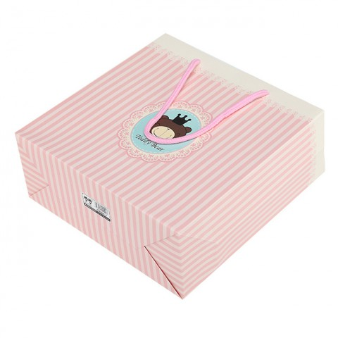 Túi giấy đựng quà hồng dễ thương