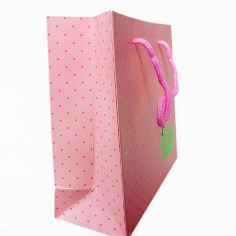 Túi giấy đựng quà chấm 32cm