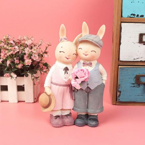 Tượng đôi thỏ tình nhân