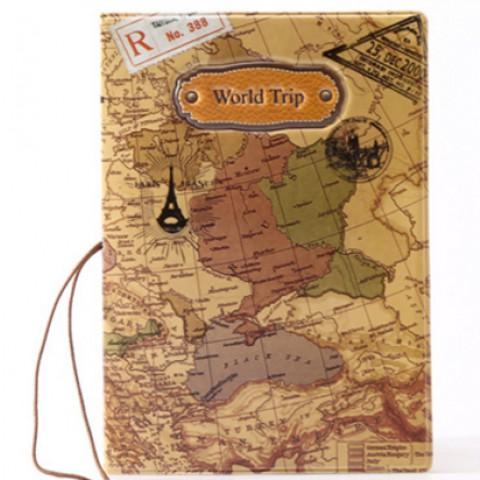 Vỏ bọc hộ chiếu Passport 2D- Bản đồ