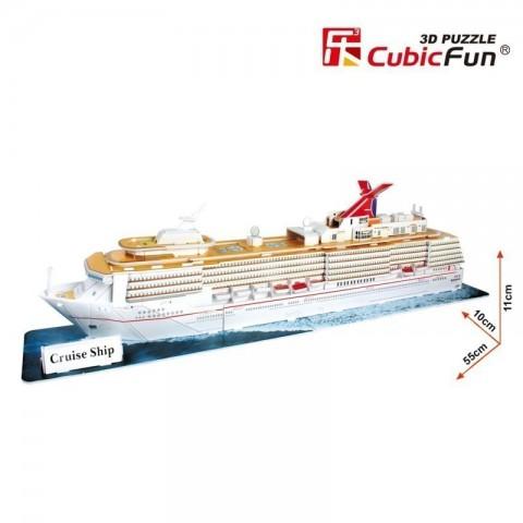 Xếp hình 3D-Du Thuyền t4006h