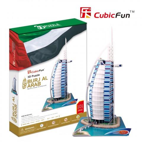 Xếp hình 3D-Khách sạn 7 sao Burj Al Arab