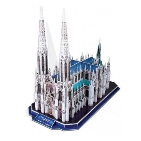 Bộ xếp hình 3D nhà thờ St.Patrick Cubic Fun MC103H