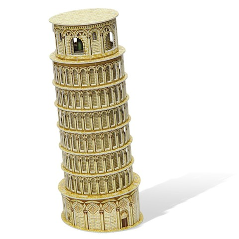 Xếp hình 3D-Tháp nghiêng Pisa (Ý) (30 mảnh) MC053h