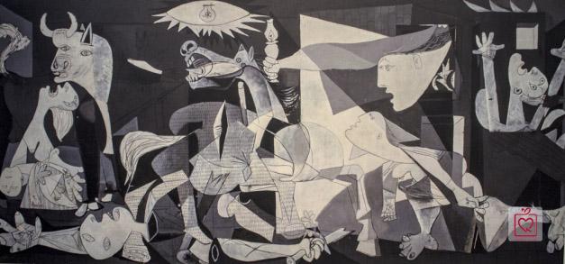 Buc hoa su thi Guernica