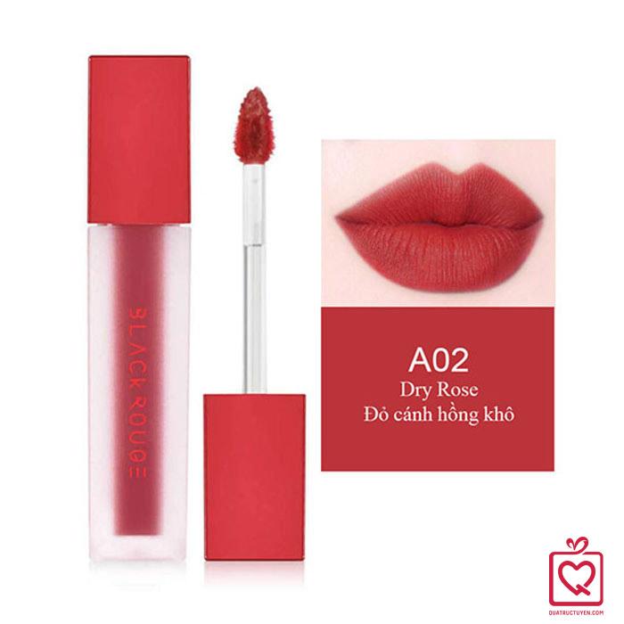 Son Black Rouge Air Fit Velvet Tint A02