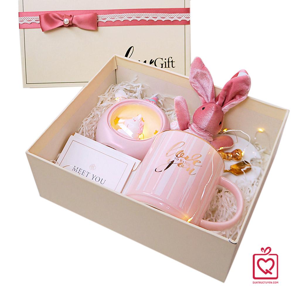 Quà tặng Cho cô nàng thích màu hồng Luvgift Pink Dream