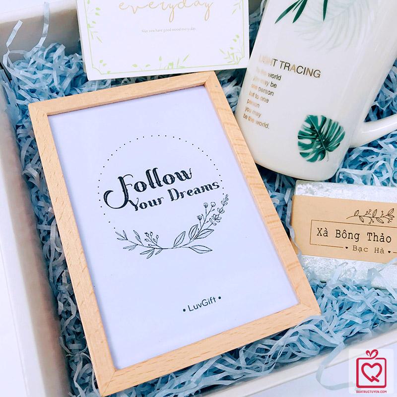 quà tặng luvgift follow your dreams