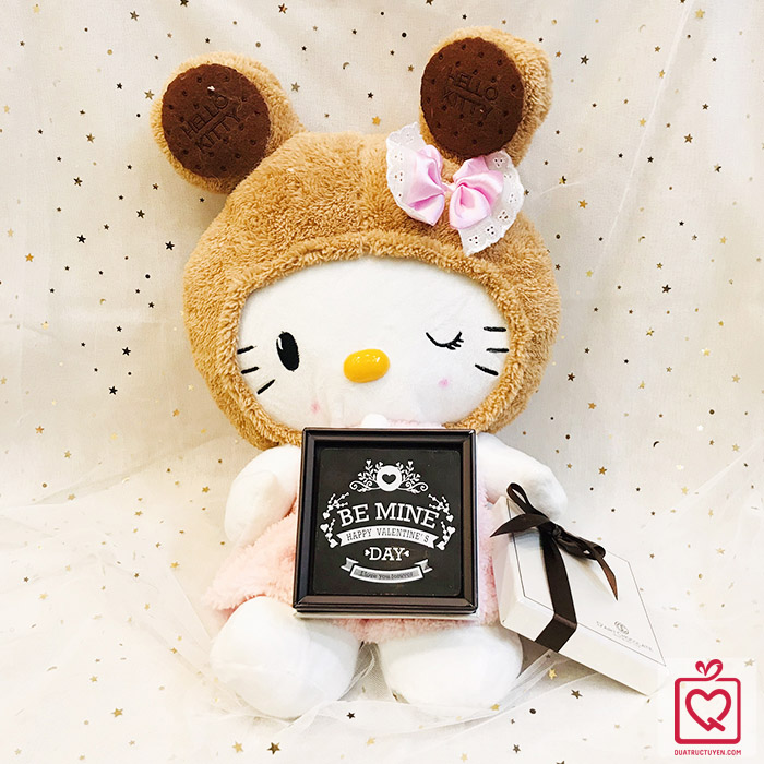 Quà tặng Valentine Hello Kitty & Socola