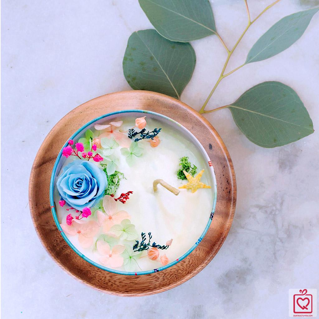 Hoa nến thơm nghệ thuật 20/10 - hương đại dương