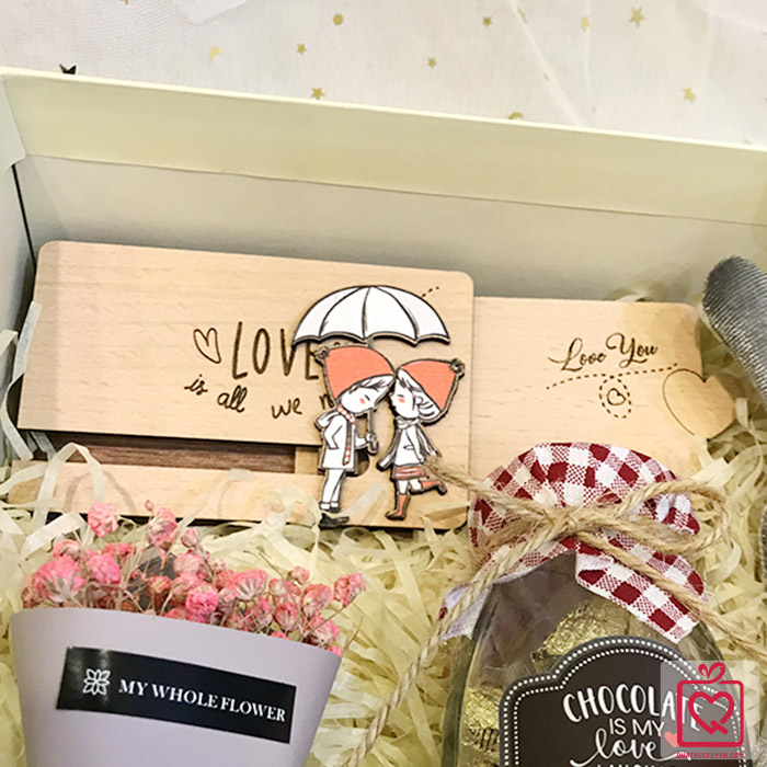 Bộ quà tặng Valentine - Honey Bunny