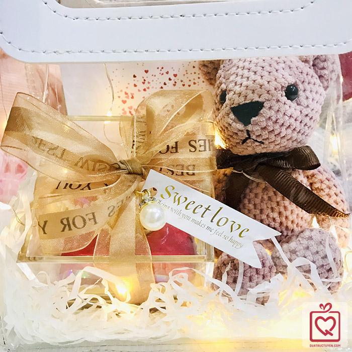 Quà tặng Luvgift Forever Love - Túi quà trong suốt Luv65