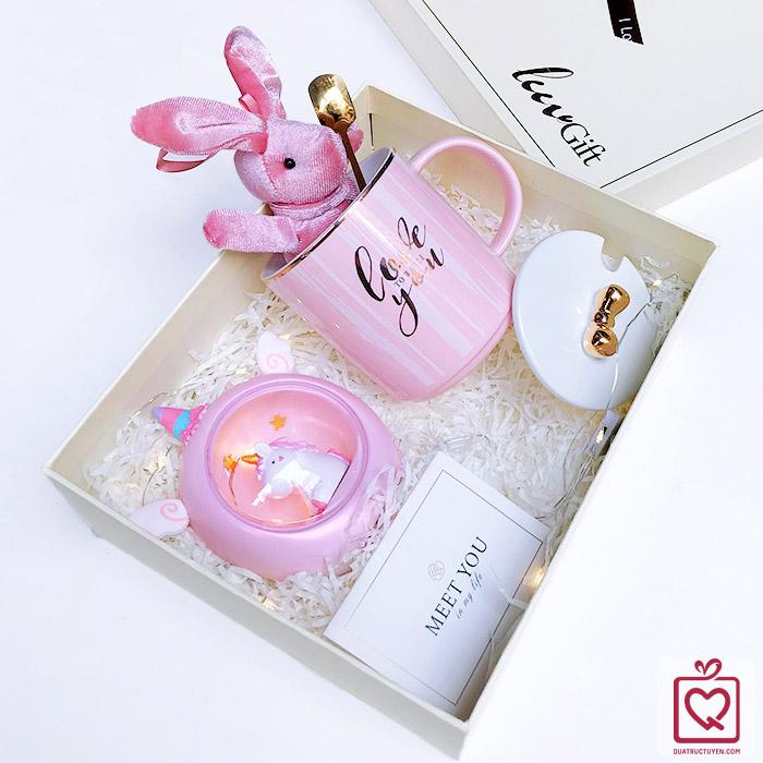 quà tặng luvgift pink dream