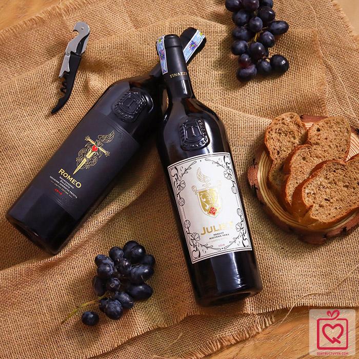Rượu vang Ý Juliet Merlot Malvasia Nera