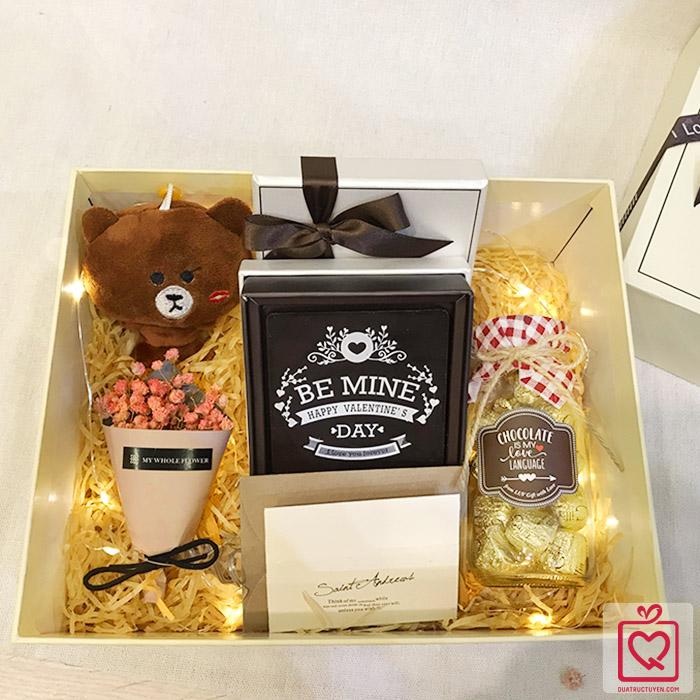 quà tặng Valentine - Set Sweetest Love