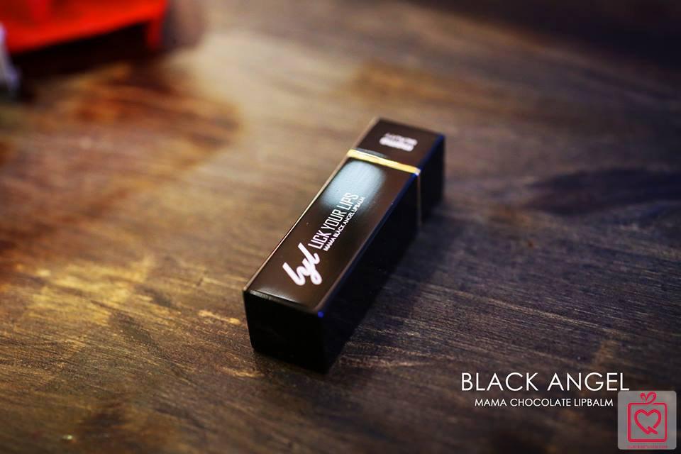 Son dưỡng chocolate đen MAMA
