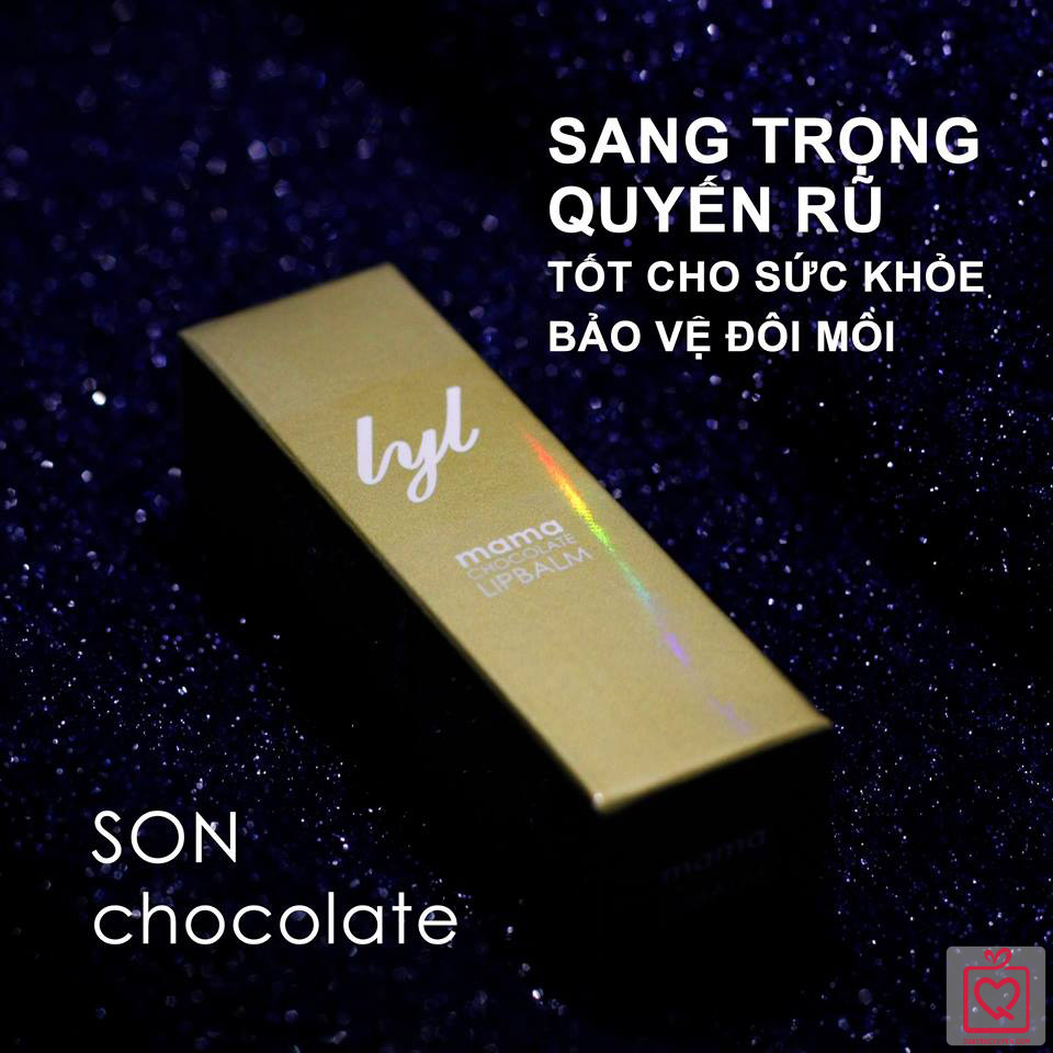 Son dưỡng chocolate trắng MAMA