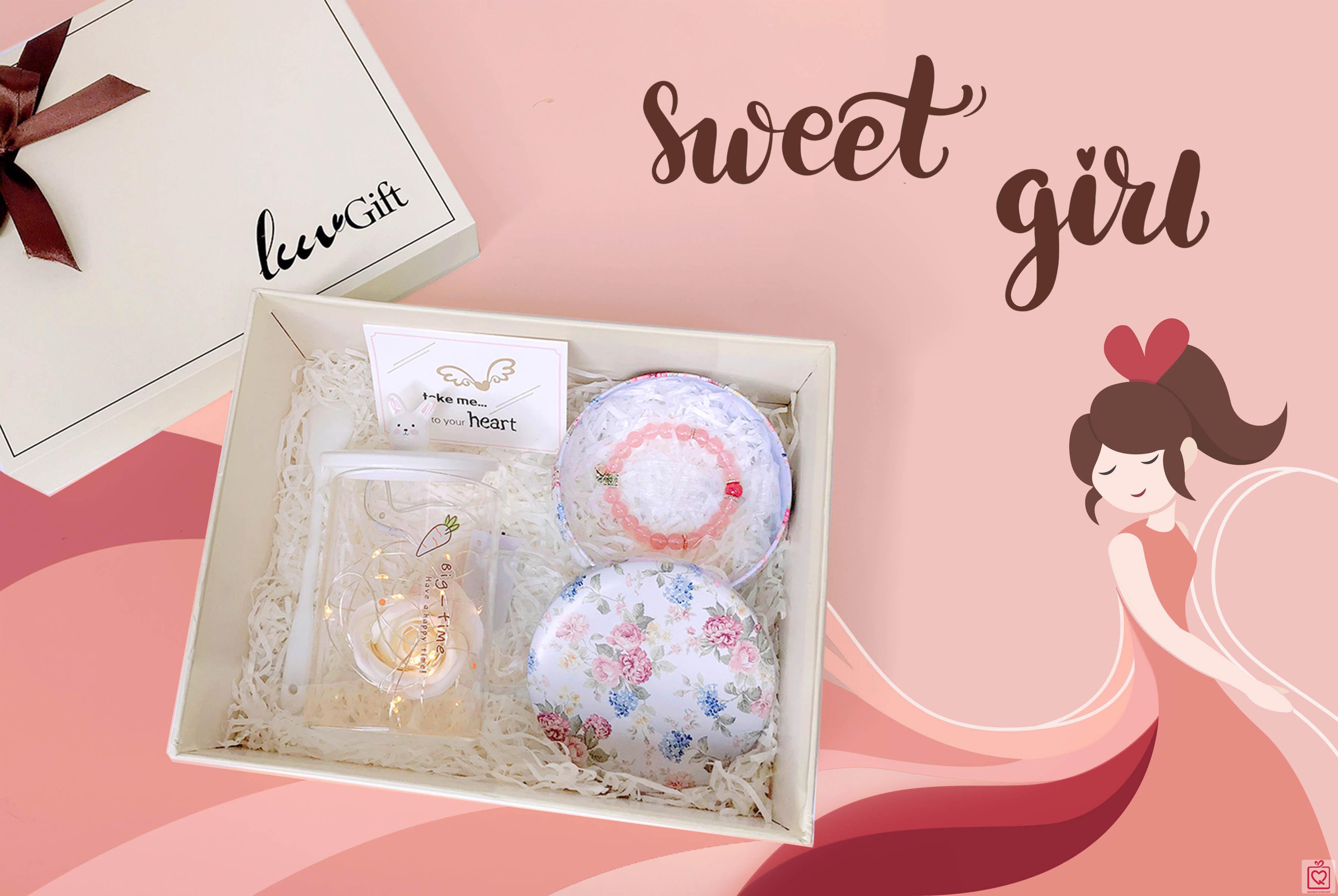 Quà tặng Luvgift Sweet Girl