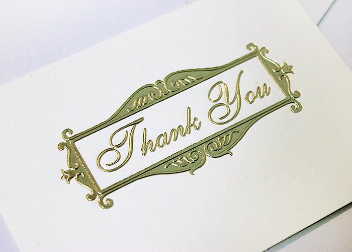 Thiệp cảm ơn - thank you