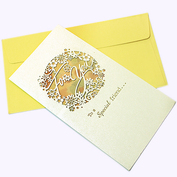 Thiệp chúc mừng kirigami