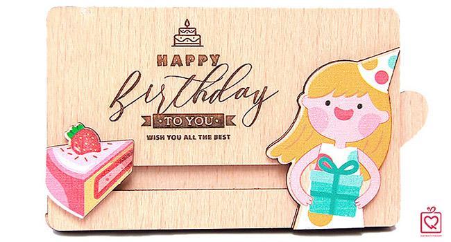Thiệp kéo sinh nhật